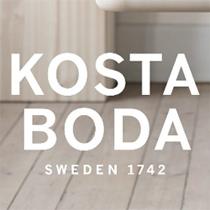 Kosta Boda produkter med reklame gaver firmagaver