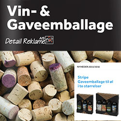 Vin- & gaveembalage med tryk katalog