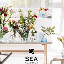 SEA glasbruk reklamegave katalog