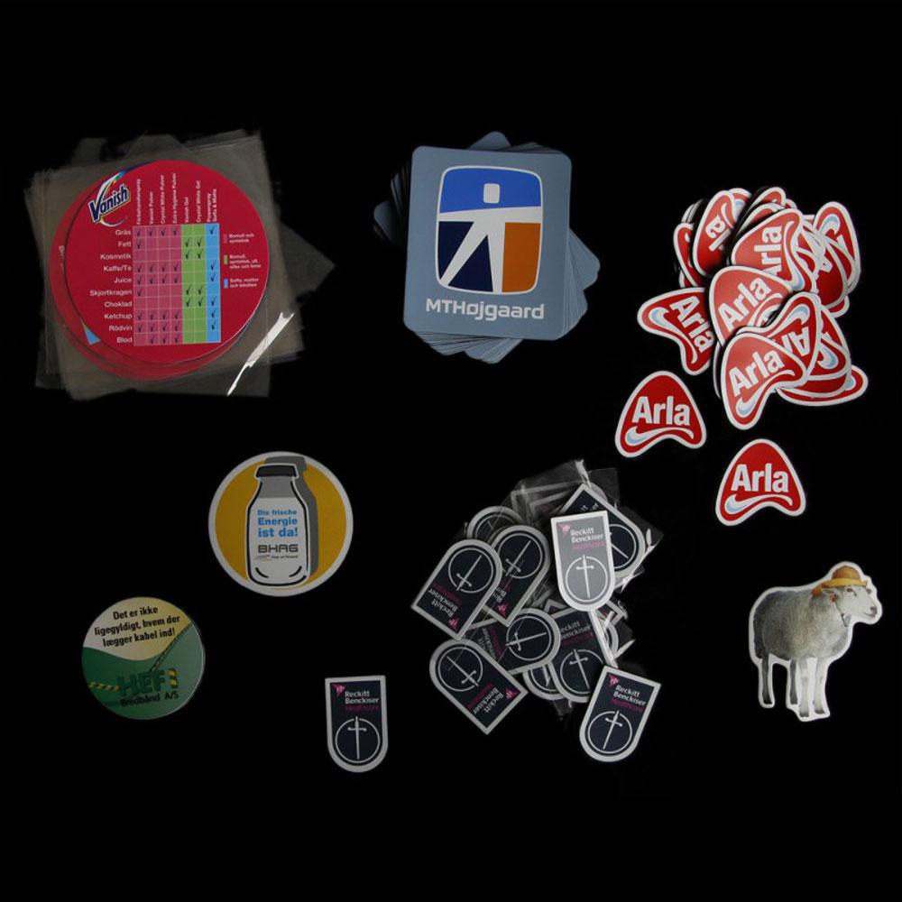 Reklamemagneter med logo print