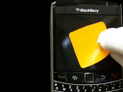 mobiltelefon skærm cleaner