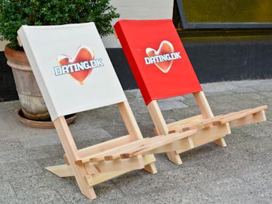 Strandstol & Festivalstol med tryk
