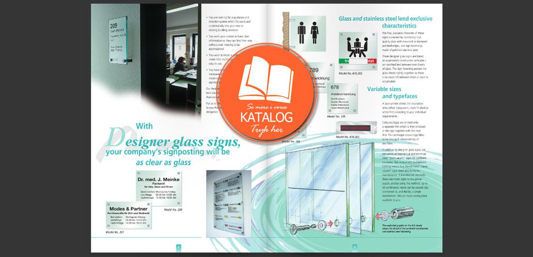 Glasskilte katalog
