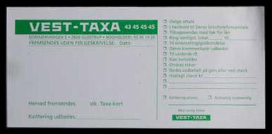 Bilagsblokke med logo tryk