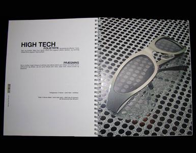 Folie trykte brochurer med logo tryk