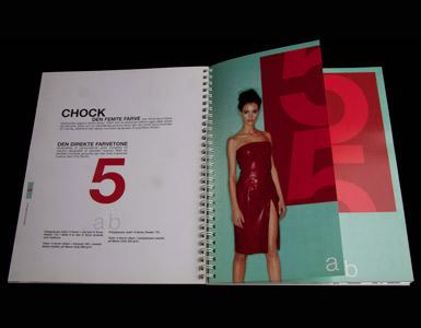 Brochurer med lak effekt