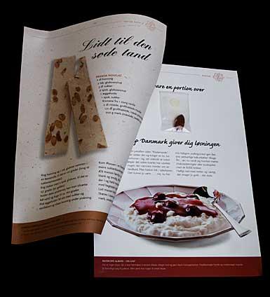 Vareprøve brochurer med tryk