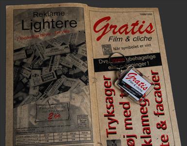 Brochurer med special tryk