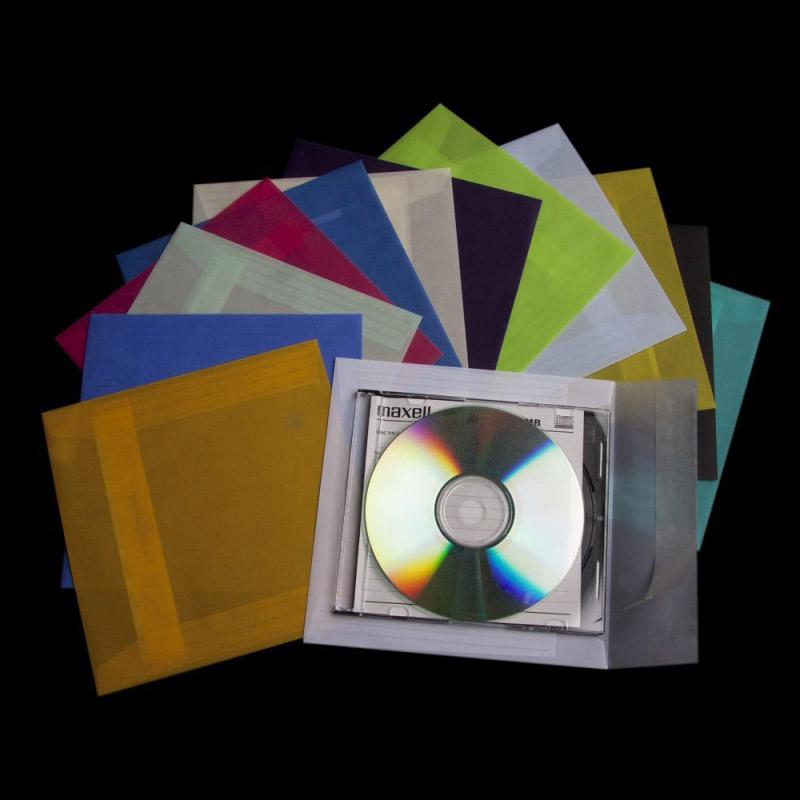 CD og DVD KUVERTER MED LOGO TRYK