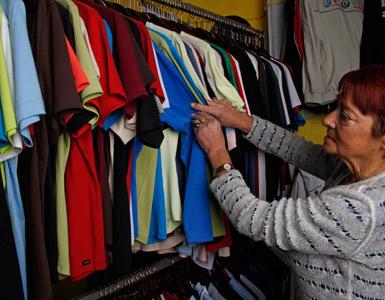 Tøj med reklame