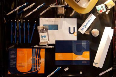 Kontorartikler med logo